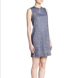 Theory Adraya Shift Dress Blue Size 2